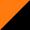 Чёрный с оранжевым
