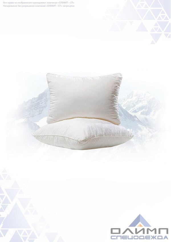 Подушка пух-перо 60Х60