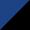 Чёрный с синим