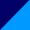 Тёмно-синий с васильком