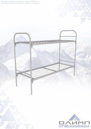 Кровать металлическая 2-х ярусная