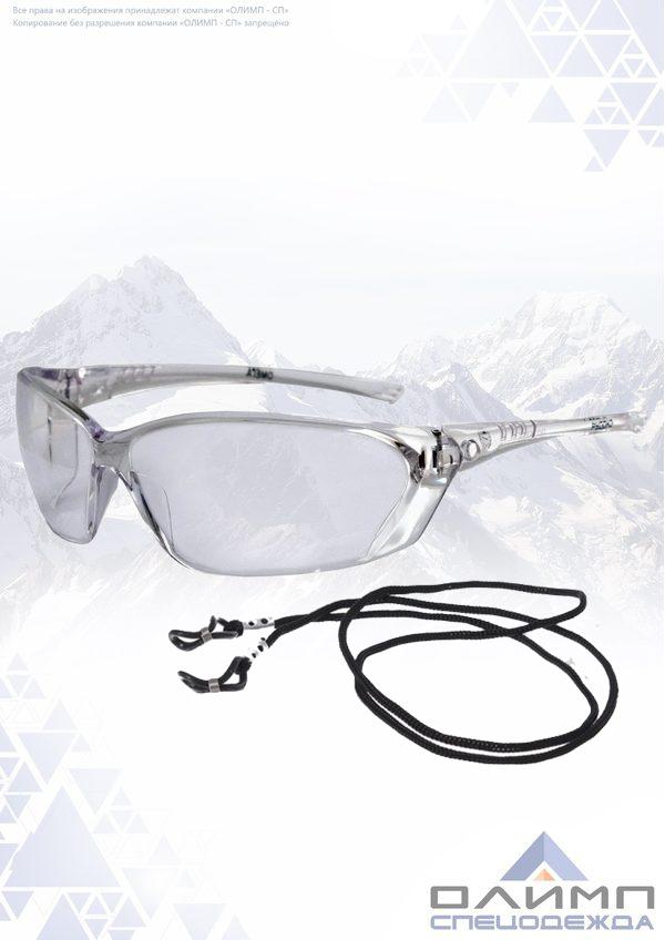 Очки защитные открытые ОМЕГА прозрачные