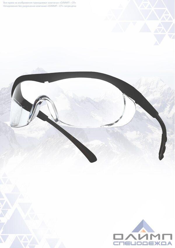 Очки защитные открытые О37 UNIVERSAL TITAN прозрачные