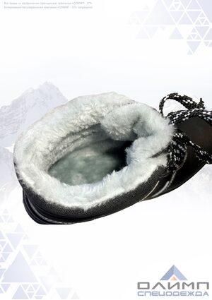 """Ботинки зимние """"Буст"""" ПУ/ТПУ, иск. мех с МП и мет. стелькой"""
