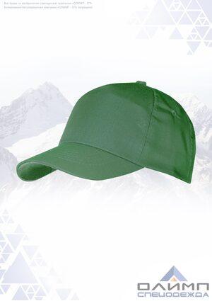 Бейсболка зелёная