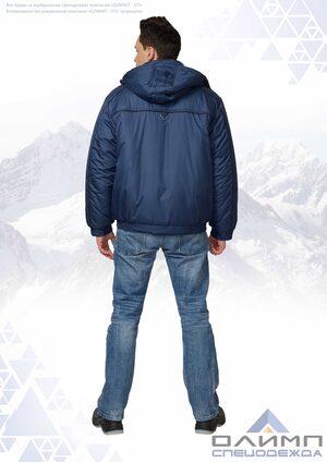 "Куртка мужская зимняя ""Буст 31"" тёмно-синяя"