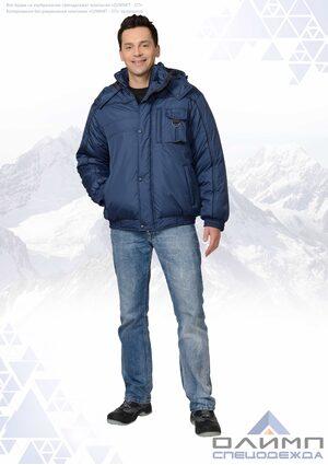 "Куртка зимняя ""Буст 31"" тёмно-синяя"