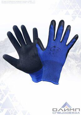 Перчатки нейлоновые с латексным покрытием Пер404